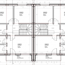 plan etaj vila 2